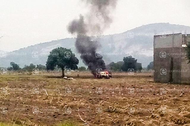 Intentan linchar a 2 por asalto a camión de Bimbo en Acajete