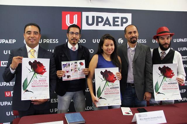 En Puebla y Zacatlán, el Primer Encuentro Internacional de Poetas