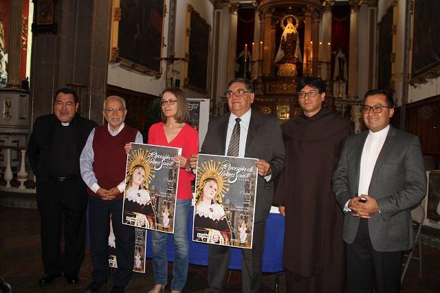Avanzan preparativos de la Procesión de Viernes Santo en Puebla