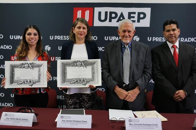 Académicos y egresados UPAEP se integran a la Academia Nacional de Arquitectura