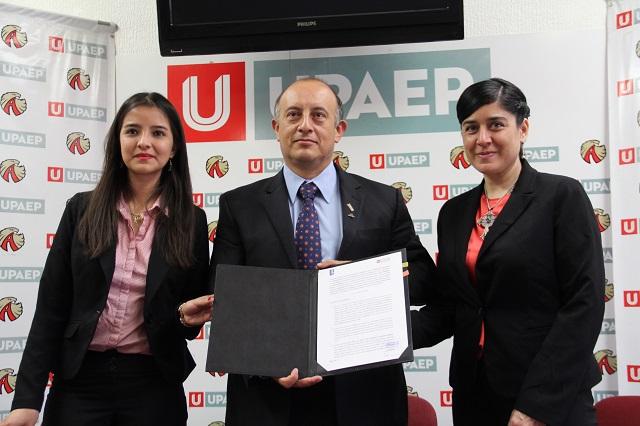 UPAEP firma convenio con el Colegio de Arquitectos de Tlaxcala