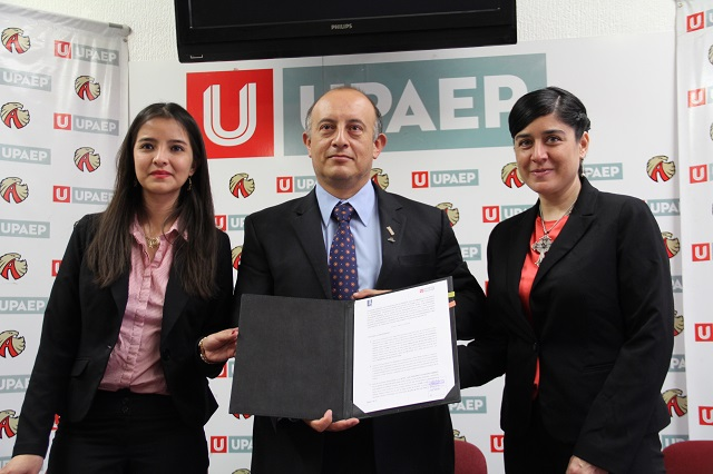 UPAEP y el Colegio de Arquitectos de Tlaxcala firman convenio