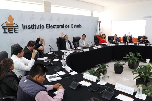 IEE aprueba bases para los plebiscitos en juntas auxiliares
