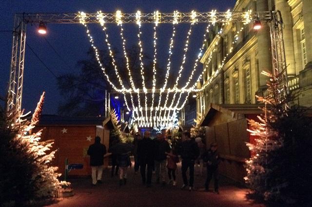 Estrasburgo vive la navidad en sus calles, sus plazas y su catedral