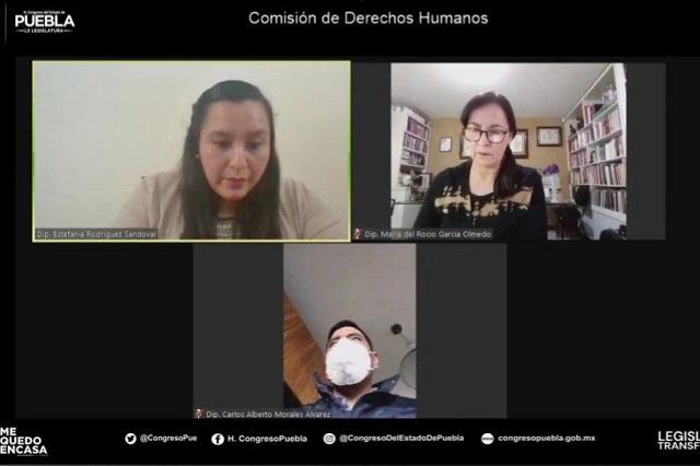 Ausencia de diputadas de Morena cancela comisión de derechos humanos