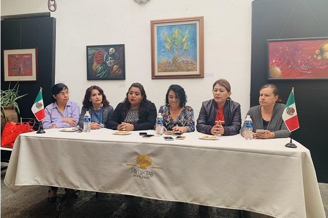Congreso de Puebla sigue al servicio del Ejecutivo: Red de Mujeres