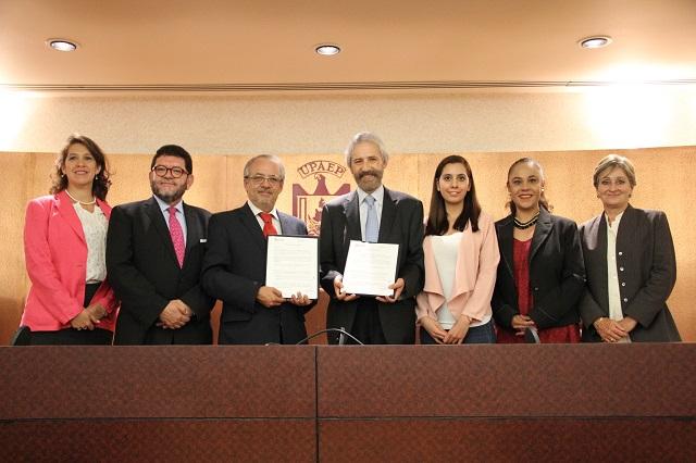 Publicistas de AMAP podrán hacer estudios de posgrados en la UPAEP