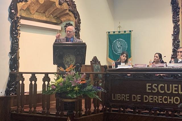 Hay en México 99% de impunidad: Juan Velásquez en la ELDP