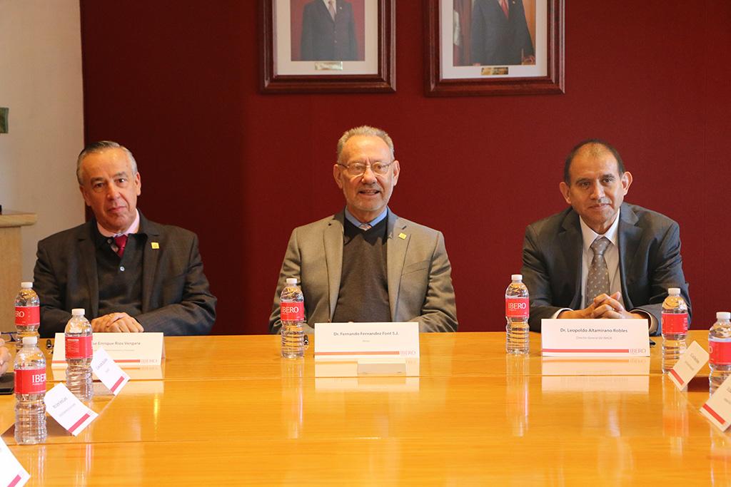 Firman convenio Ibero e Inaoe para proyectos con enfoque incluyente