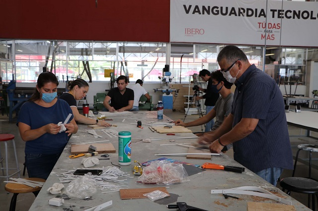 Hospitales piden 15 mil caretas anti Covid-19 a la Ibero Puebla