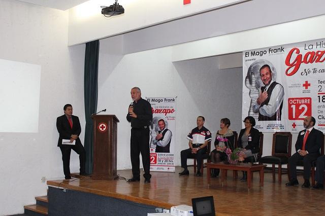 Cruz Roja abre centros de acopio de víveres para ayudar a damnificados