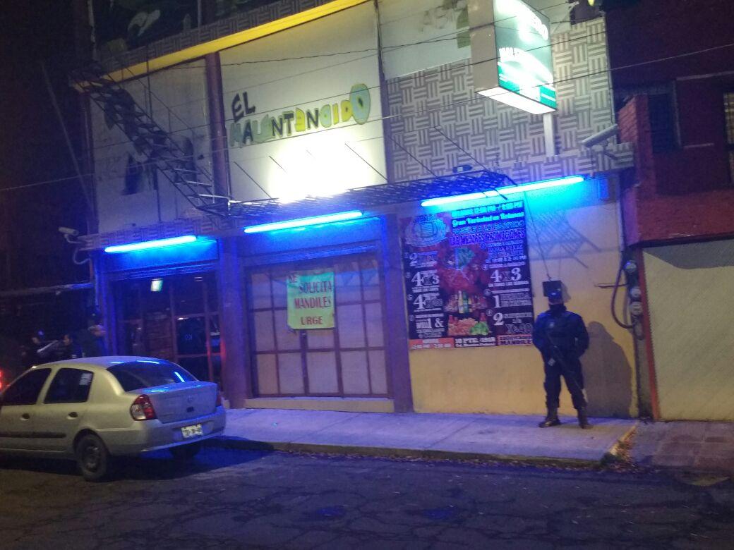 Operativo en giros negros deja clausura de 2 bares en Puebla