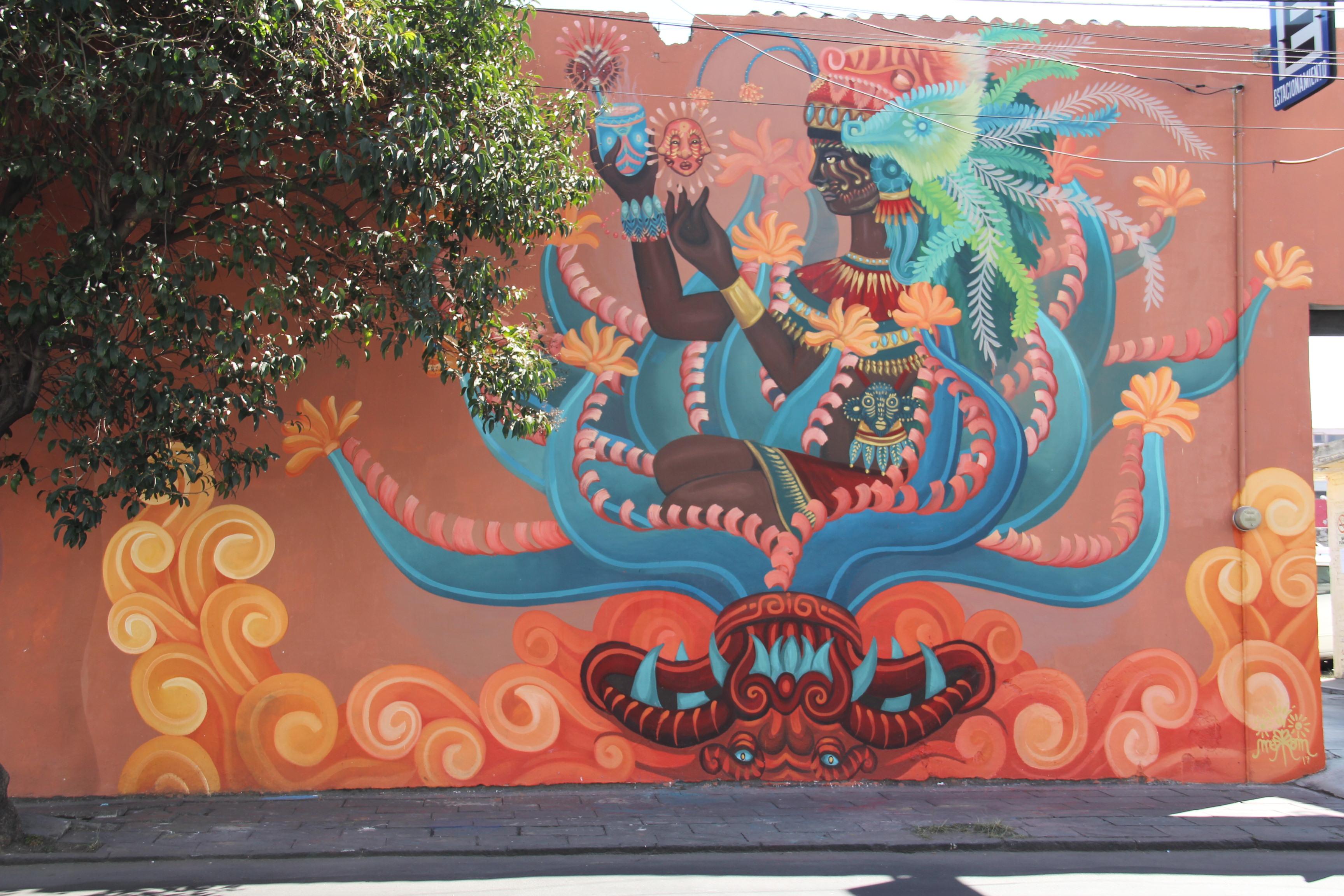 Murales en el Barrio de Santiago