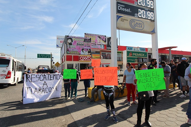 Corralón huachicolero inquieta a colonias del sur de Puebla