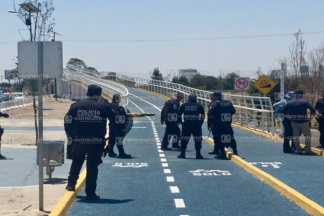 Asesinan a tiros a un hombre en plena ciclovía del Periférico