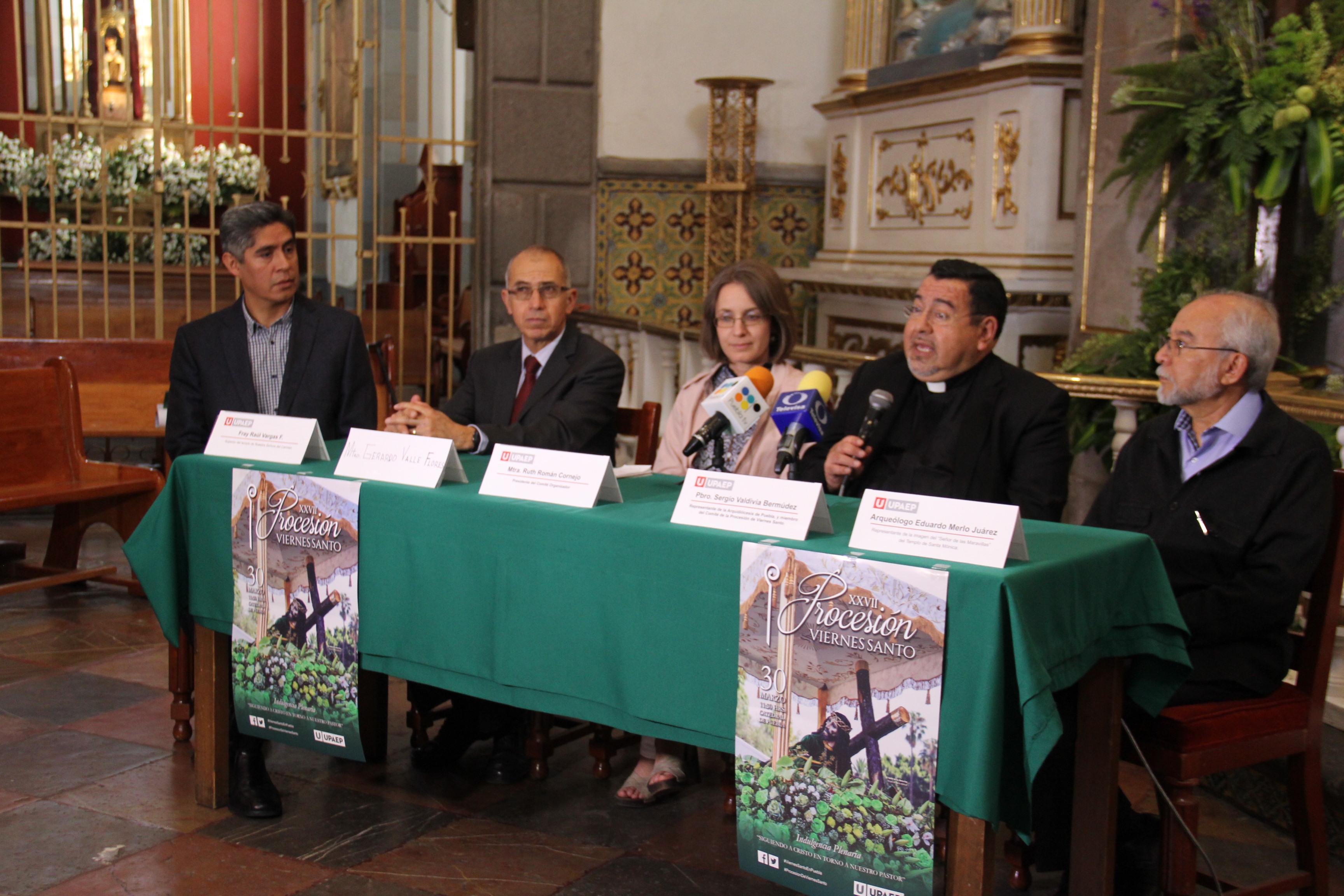 Puebla está lista para la XXVII Procesión de Viernes Santo