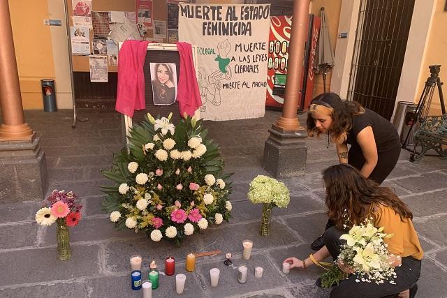 Alumnos de la BUAP exigen justicia para Ingrid Escamilla