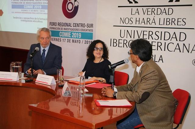 Ibero Puebla, sede de foro regional sobre investigación educativa