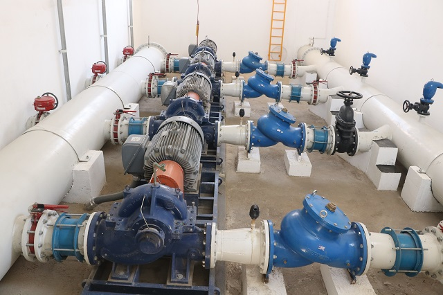 Reducción de agua en 8 colonias de Puebla por obras de rebombeo