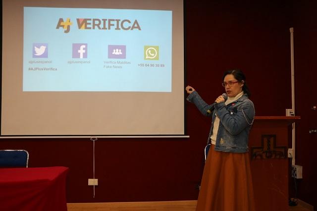 Experta muestra herramientas para identificar fake news, en la IBERO
