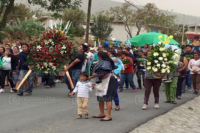 Despiden a Elías, el bebé asesinado en la México-Puebla