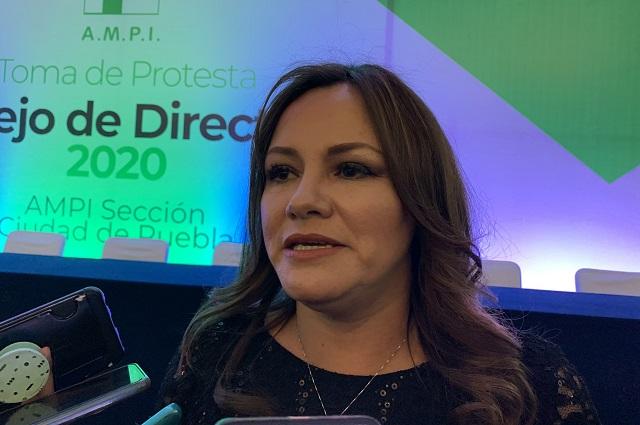 Nueva presidenta de la AMPI va por Ley Inmobiliaria en Puebla