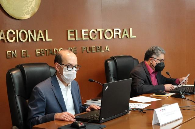 INE regulará actos masivos en las campañas de Puebla