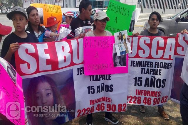 Exigen a FG Alerta Amber por estudiante desaparecida en Chachapa