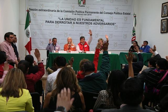 PRI de Puebla deja al CEN elegir al candidato a gobernador