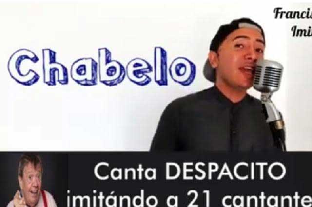 Imitador canta Despacito con la voz de 21 artistas y video se viraliza