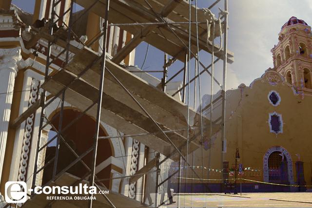 Aún sin restaurar, la mitad de inmuebles históricos en Puebla: SC