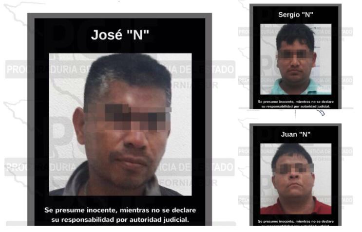 Caen 3 de 'Los Dámaso' por crimen de reportero en BCS