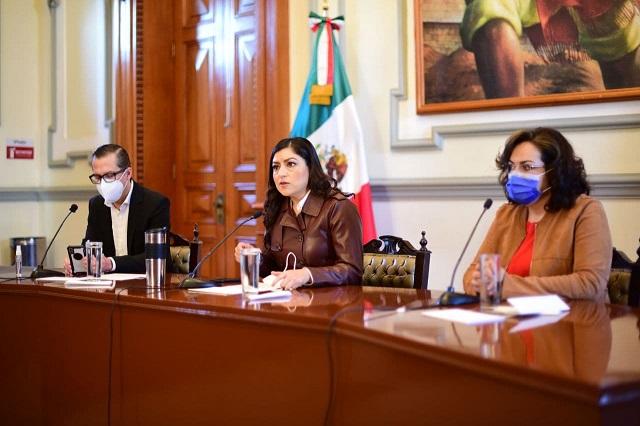 No habrá en Puebla capital nuevos impuestos: Rivera