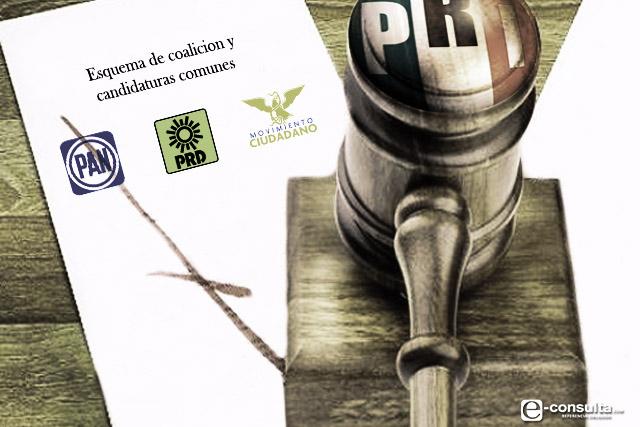 Van PRI y Morena contra los candidatos comunes del PAN