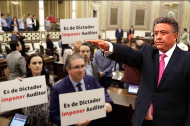 Va PAN y Marko Cortés a la SCJN contra nuevo auditor en Puebla