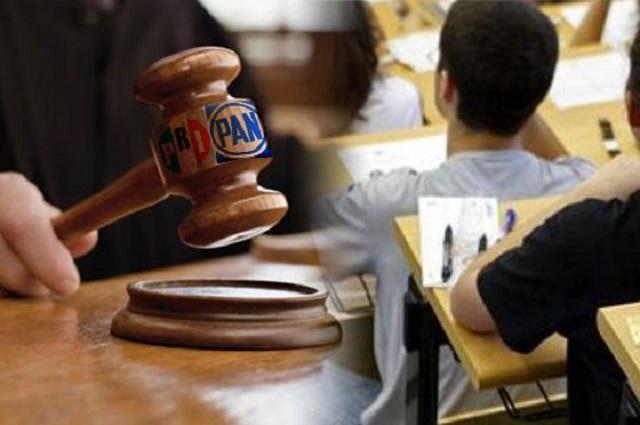 PRI y PAN alistan combate jurídico a Ley de Educación