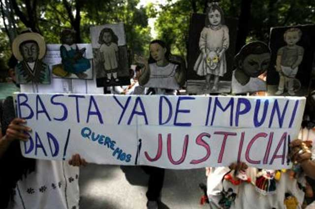 México, primer lugar en AL con mayor índice de impunidad