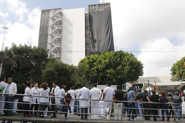Prevén reconstruir y no demoler el hospital de San Alejandro