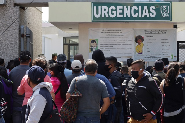 Puebla sigue como el municipio con más contagios Covid-19
