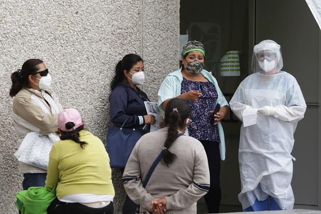 Más de 1 mil 800 enfermeras poblanas contrajeron Covid