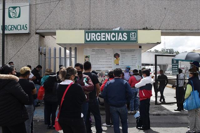 Registran 1 mil 58 contagios el fin de semana en Puebla