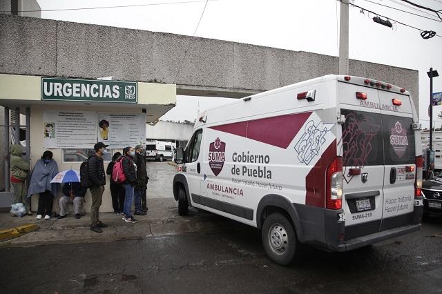 Sin comorbilidad, 23% de los muertos por Covid en Puebla