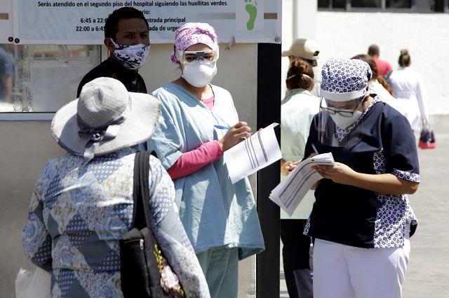 Despuntan contagios de Covid el fin de semana en Puebla