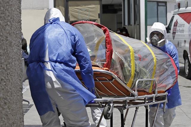 Avasalla Covid a Puebla: 407 contagios y 62 muertes en 1 día