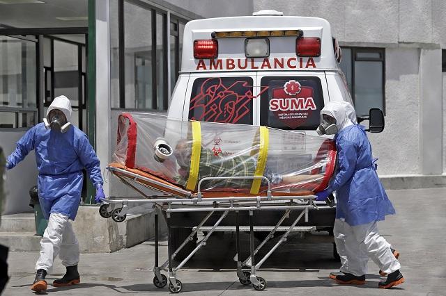 Suma Puebla mil contagios activos y 646 muertes por Covid