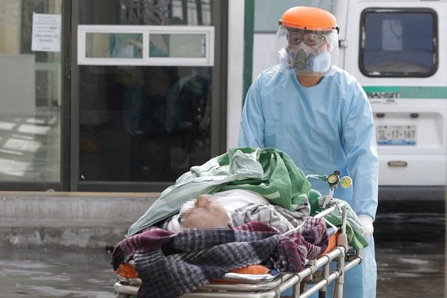 Reporta Puebla 58 muertes y un  descenso en nuevos contagios