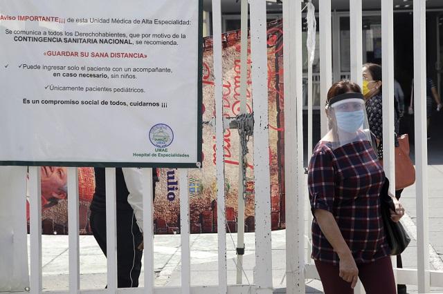 Covid-19 sigue avanzando en Puebla: 78 muertes y 401 contagios