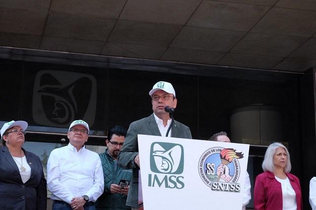 IMSS denuncia robo de medicamentos para VIH valuados en 465 mil 918 pesos