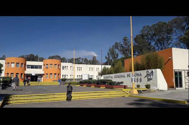 Hospital del IMSS Metepec será receptor de casos de Covid-19