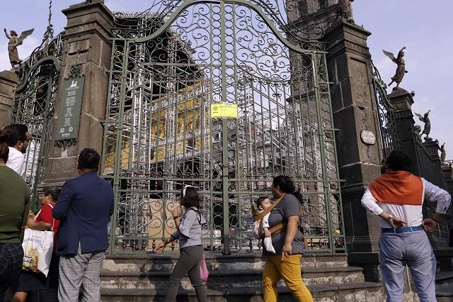 Frena INAH por 2 horas montaje de la Capilla Sixtina en Puebla